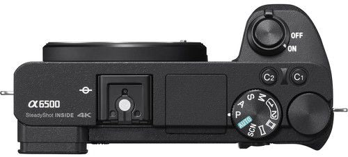 Sony Alpha a6500 Mirrorless Digital Camera Body Only - 24.2 MP, Black