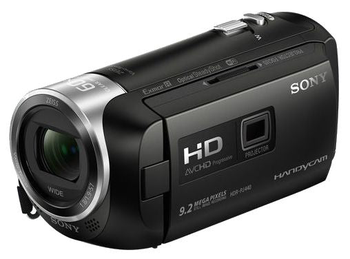 Sony HDR-PJ410 Full HD 8GB Camcorder with Built-in Projector - Black