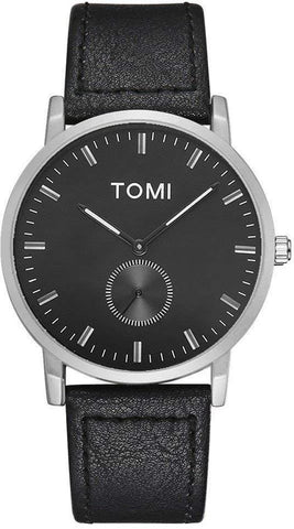 Tomi Casual Watch For Men Analog Leather - T073