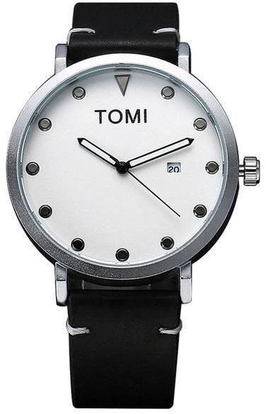 Tomi Casual Watch For Men Analog Leather - T074