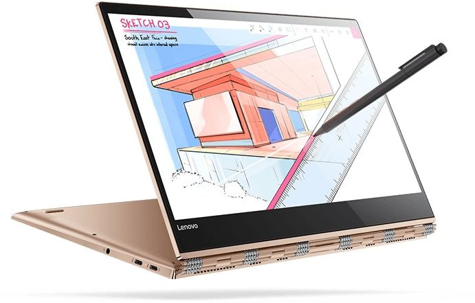 "LENOVO YOGA 920-13IKB-80Y7004GAX-BRN (CORE  i 7  8550U, 16GB, 1TBSSD, 13.9"" HD-TOUCH- FLIP, WIN 10)"