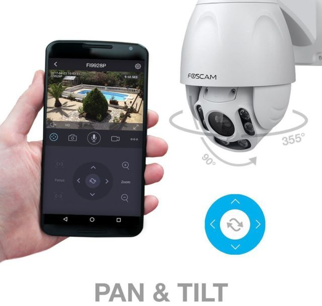 Foscam FI9928P Outdoor Wireless 2.0 Megapixel Pan