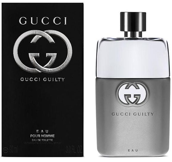 Gucci Guilty Eau Pour Homme by Gucci for Men - Eau de Toilette, 90 ML