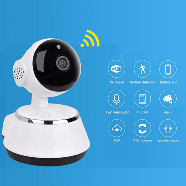 Smart IP Wireless Camera 720P with Two Way Audio