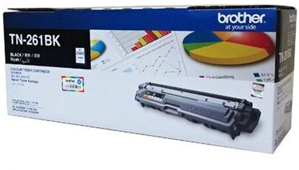 Brother Color Toner TN-261BK, Black
