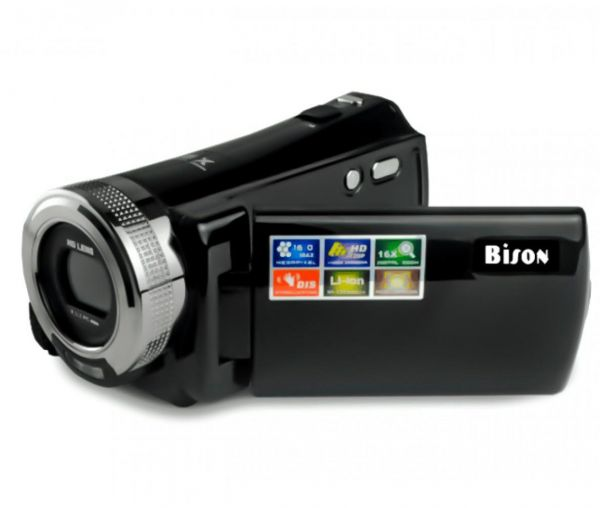 Bison HD-95 Camcorder,720P ,16x Optical Zoom, 16 Megapixel