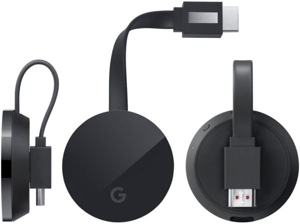 Google Chromecast Ultra Streaming Media Player - Black