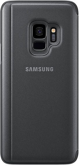 Samsung Galaxy S9 Clear View Standing Cover - Black