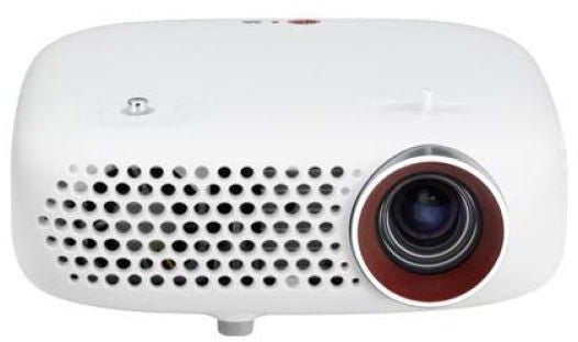 LG Home Theatre Projector - PW600G, White