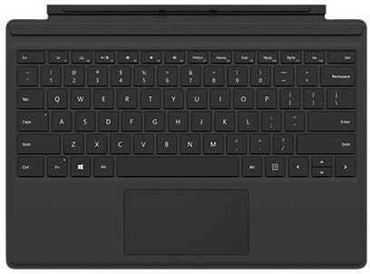 Microsoft Surface Pro Type Keyboard - English/Arabic, Black