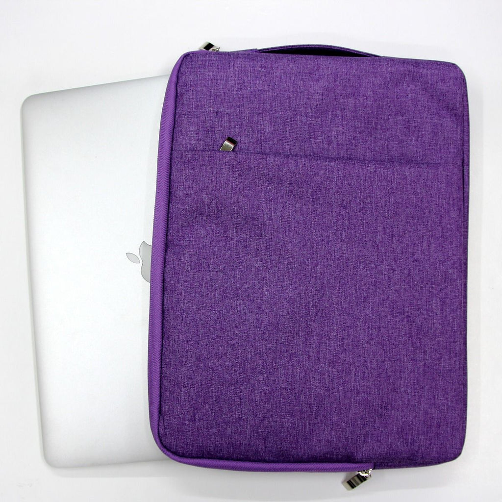 Aone 13.3 Inch Sleeve With Handle For Macbook/Ultrabook-Purple