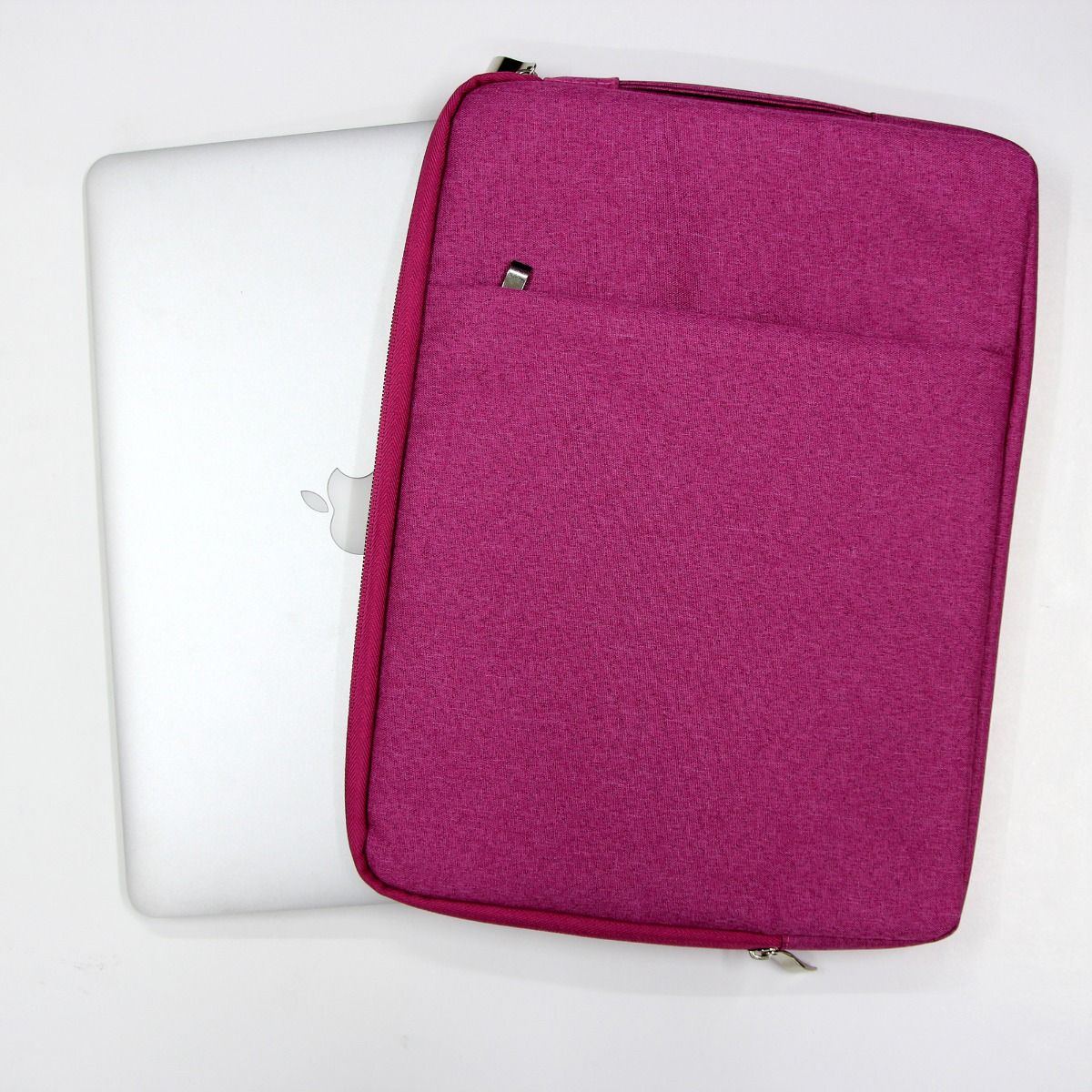 Aone 13.3 Inch Sleeve With Handle For Macbook/Ultrabook-Pink