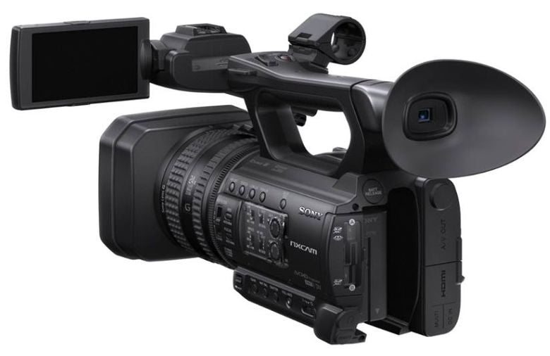 Sony HXR-NX100 Full HD Compact Professional NXCAM Camcorder