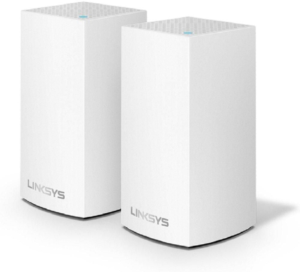 Linksys - Velop AC2600 Dual-Band Mesh Wi-Fi System (2 Pack) - White