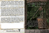 Gospel Tract - Christ Died For Sinners by Steve Evans