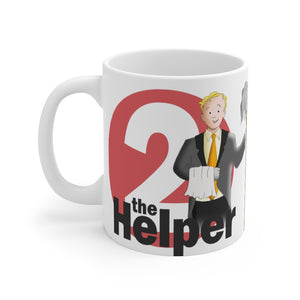 "Enneagram TWO - ""The Helper""  Mug 11oz"