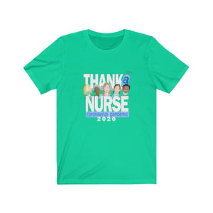 THANK A NURSE - Unisex Jersey Short Sleeve Tee
