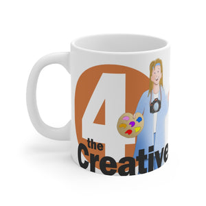 "Enneagram FOUR - ""The Creative""  -    Mug 11oz"