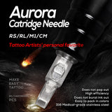 Aurora Curved Magnum Cartridge Needles (20 Pack) - dragonartus