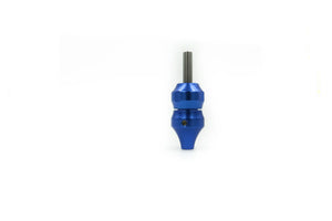 Aluminum Grip w/ Backstem - Blue - dragonartus