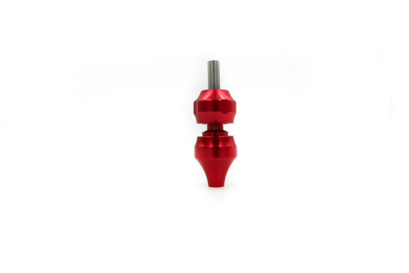 Aluminum Grip w/ Backstem - Red - dragonartus