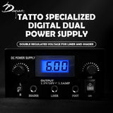 P008 Digital Tattoo Power Supply - dragonartus
