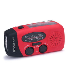 iRonsnow IS-088 Solar Emergency AM FM NOAA Weather Radio