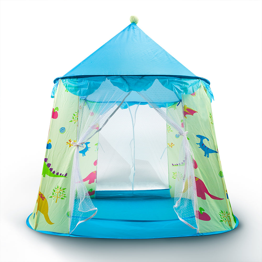 iRonrain Toddler Kids Play Pop Up Princess Tents with Carry Bag for Toys Indoor Outdoor Playhouse Playground Courtyard