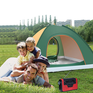 iRonrain 4 Person Camping Tent Beach Play Tents