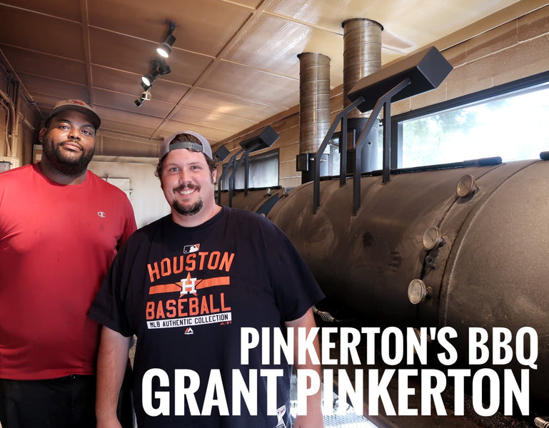 THE PITMASTER SERIES: Grant Pinkerton of Pinkerton's BBQ in Houston, TX