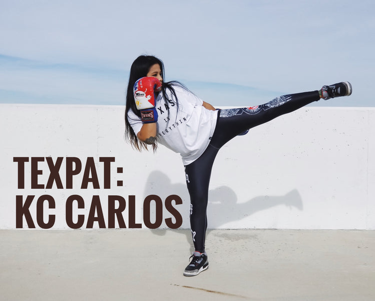 THE TEXPAT SERIES: KC Carlos, Muay Thai fighter in Thailand