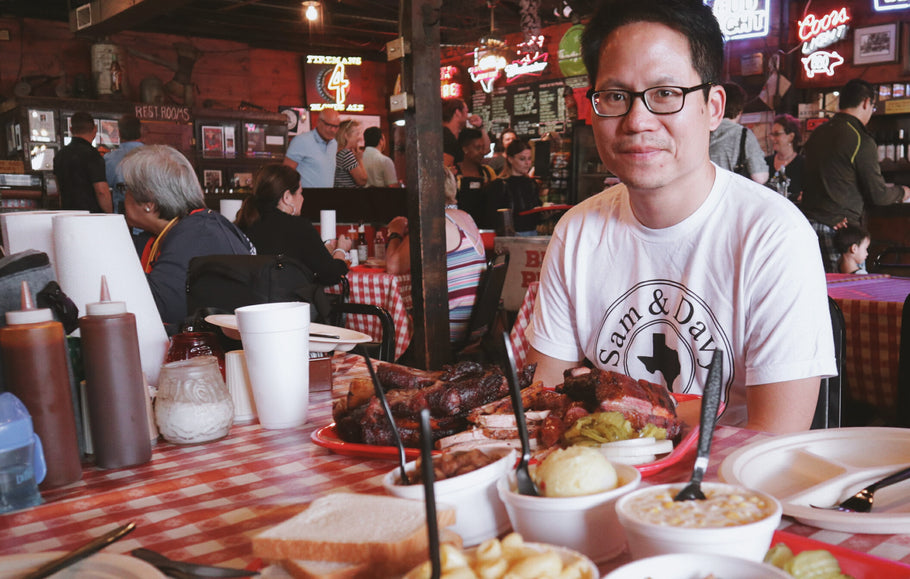 This Texan Ate BBQ 266 Times Last Year.