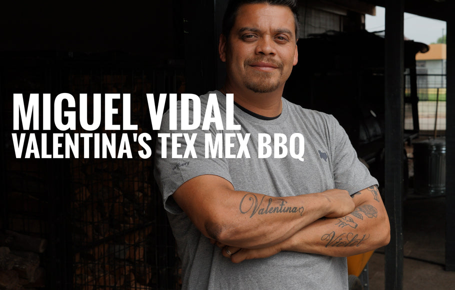 THE PITMASTER SERIES: Miguel Vidal of Valentina's TexMex BBQ in Austin, TX