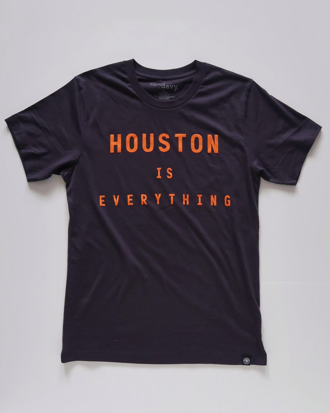 The Houston is Everything Tee (Unisex Navy/Orange)