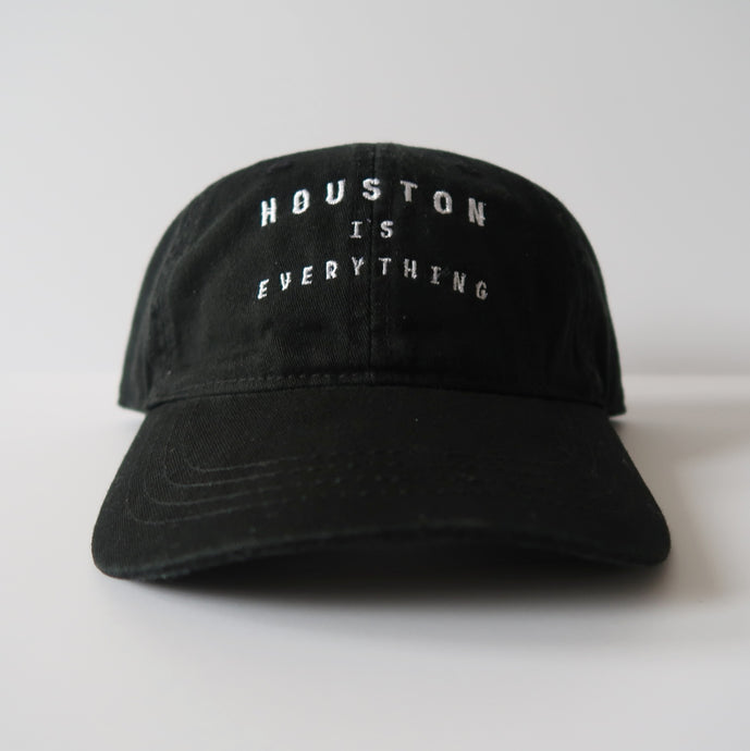 The Houston is Everything Hat (Black/White)