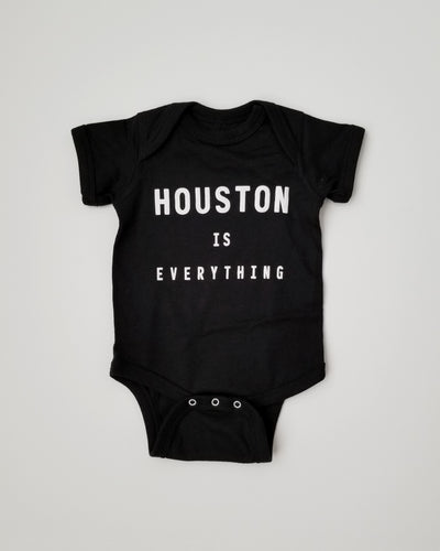 The Houston is Everything Onesie (Black/White)