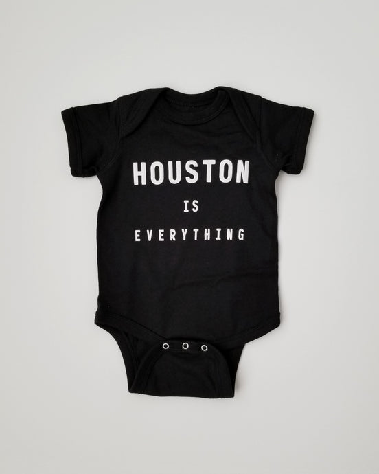 The Houston is Everything Onsie (Black/White)
