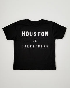 The Houston is Everything Toddler Tee (Black/White)