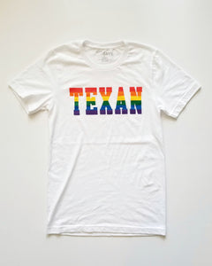 The Collegiate Texan Rainbow Tee