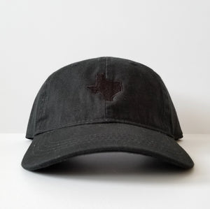 The Official Texas Dad Hat (Black/Black)