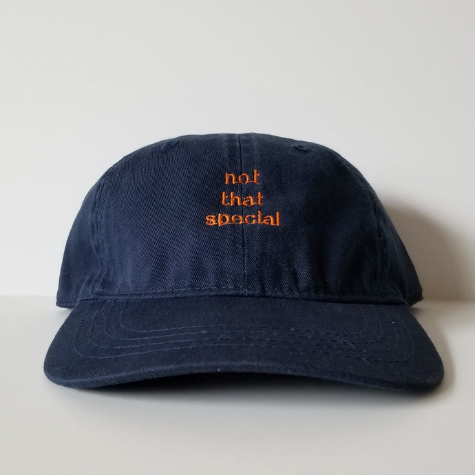 Not That Special Hat (Navy/Orange)