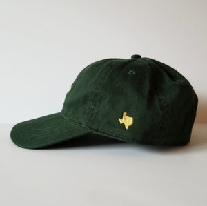 The Waco Hat (Forest Green/Gold)