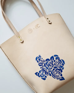 Texas is Everything Rose Tote by Bear Cub Leather