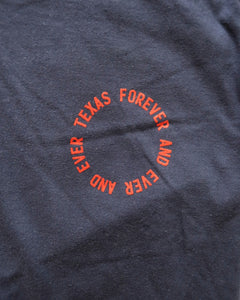 Texas Forever Circle Tee (Navy/Red)