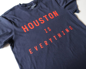 The Houston is Everything Tee (Navy/Red)