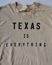 Load image into Gallery viewer, The Texas is Everything Tee (Unisex Tan/Black)