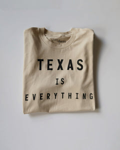 The Texas is Everything Tee (Unisex Tan/Black)