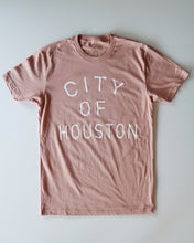 Load image into Gallery viewer, The City of Houston Tee (Unisex Ash Pink/White)