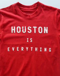 The Houston is Everything Tee (Unisex Red/White)