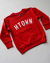 Load image into Gallery viewer, The Htown Toddler Crewneck (Red/White)